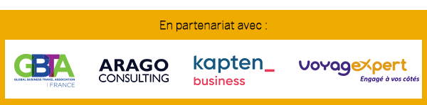 Sponsors Business Class SAP Concur Paris : GBTA - ARAGO Consulting - Voyagexpert