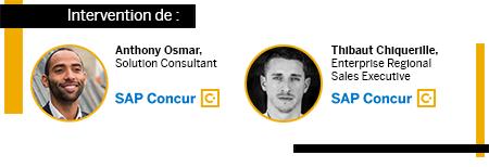 Intervention de Anthony Osmar, Solution Consultant, SAP Concur