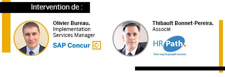 Intervention de Olivier Bureau, SAP Concur et de Thibault Bonnet-Pereira, HR Path