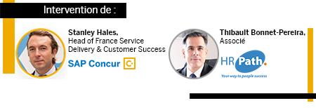 Intervention de Stanley Hales, SAP Concur et de Thibault Bonnet-Pereira, HR Path
