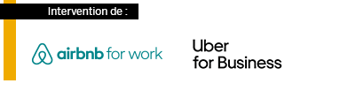 Airbnb for work et Uber for Business sponsors des Business Class SAP Concur