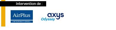 AIRPLUS et AXYS - sponsors des Business Class SAP Concur