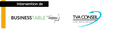 Business Table et TVA Conseil sponsors des Business Class SAP Concur